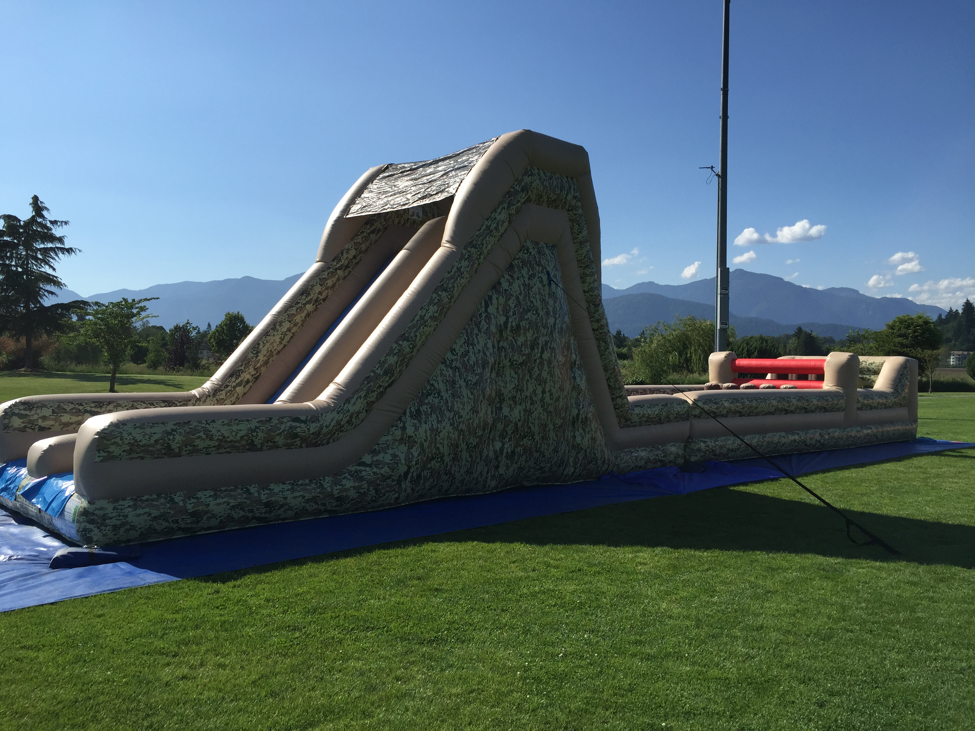 60 Boot Camp Obstacle Course