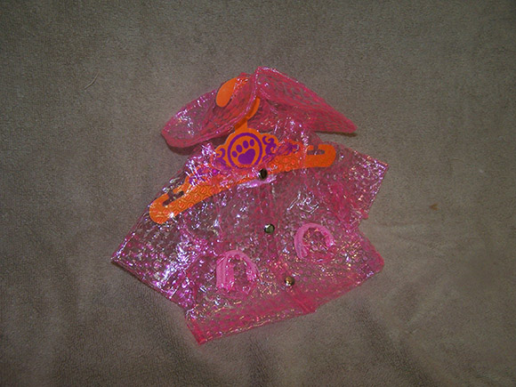 Pink Raincoat - $7.20 (sale price) - 6 remaining