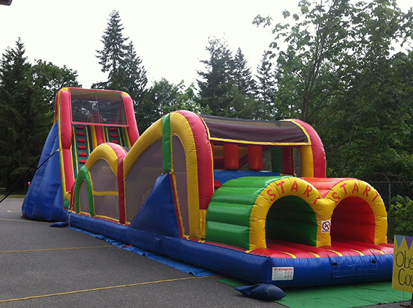 77 Foot Obstacle Course
