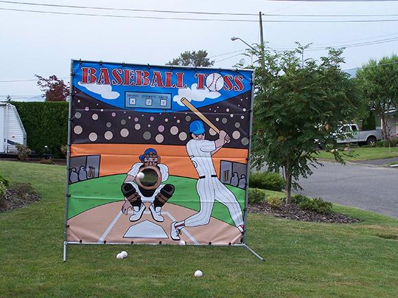 Baseballs For Sale >> Baseball Toss | Carnival Games | Fraser Valley Party Rentals
