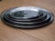 Oval Platters - Stainless Steel
